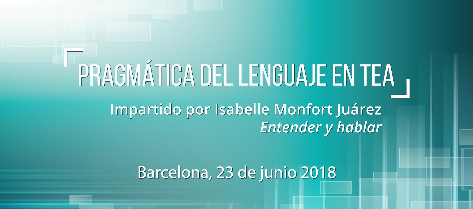 Pragmática del Lenguaje en TEA-Barcelona