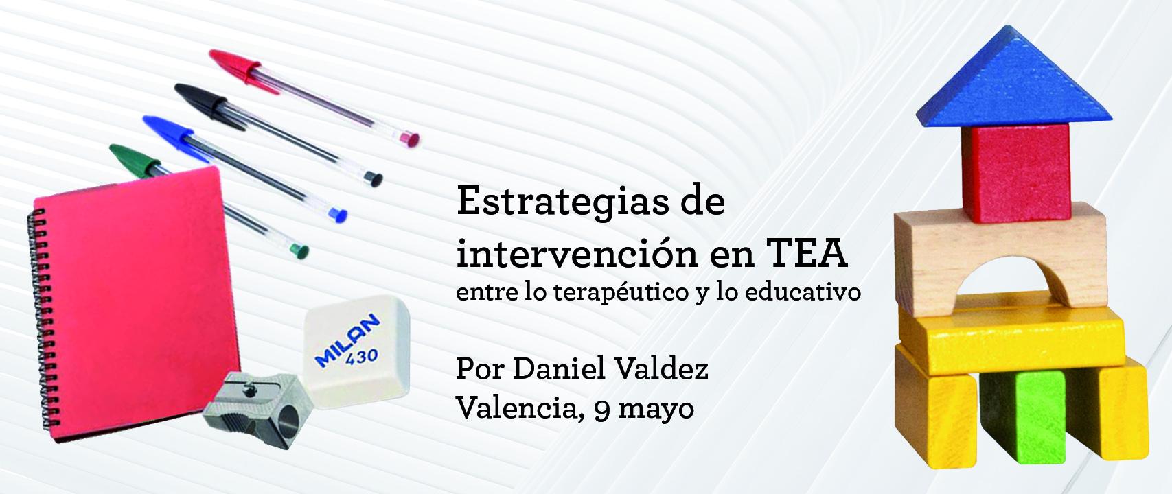 Estrategias de intervención en TEA entre  lo terapéutico y lo educativo